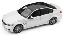 Модель автомобиля BMW M3 Competition (F80), Scale 1:18, Mineral White Metallic