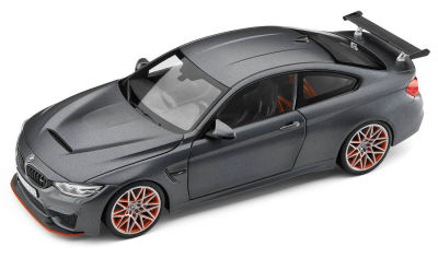 Модель BMW M4 GTS, Frozen Dark, Scale 1:18