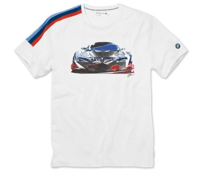 Мужская футболка BMW Motorsport Motion T-Shirt, Men, White