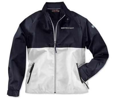 Мужская куртка BMW Motorsport Jacket, Men, White / Team Blue