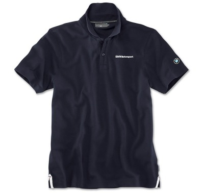 Мужская рубашка-поло BMW Motorsport Polo Shirt, Men, Team Blue