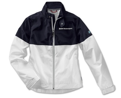 Женская куртка BMW Motorsport Jacket, Ladies, White / Team Blue
