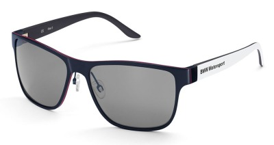 Солнцезащитные очки BMW Motorsport Sunglasses, Unisex, White/Team Blue