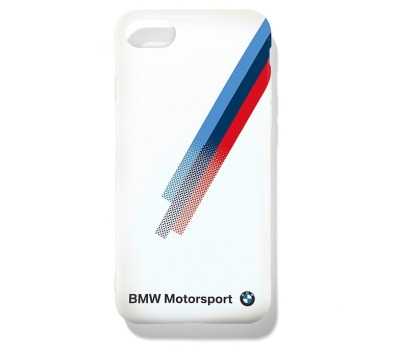 Крышка BMW для Apple iPhone 7, Motorsport Mobile Phone Case, White
