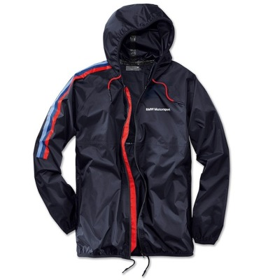 Куртка-дождевик BMW Motorsport Rain Jacket, Unisex, Team Blue 2017