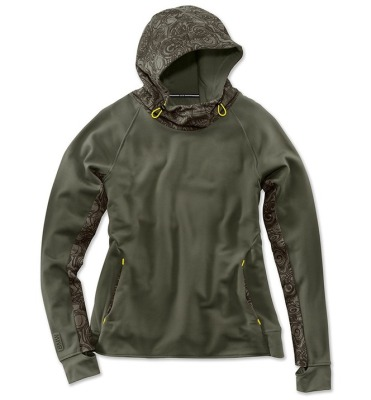 Женская толстовка BMW Active Sweatshirt, Ladies, Olive