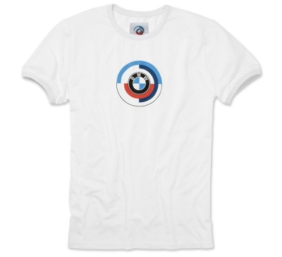 Мужская футболка BMW Motorsport Heritage T-Shirt, White