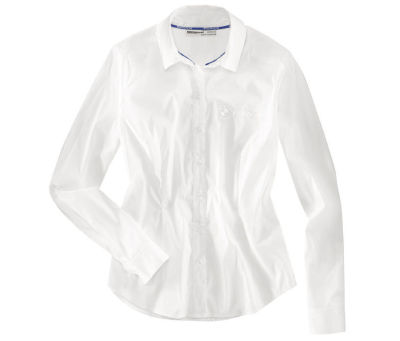 Женская блузка BMW Motorrad Ladies Logo Blouse, White