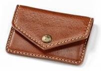 Кожаная визитница BMW Motorrad Business Card Holder, Brown