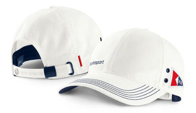 Бейсболка BMW Yachtsport Cap, Unisex, White