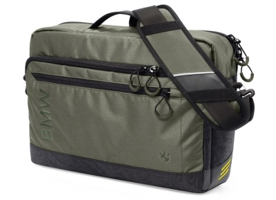Сумка-мессенджер BMW Active Messenger Bag, Functional, Anthracite/Olive