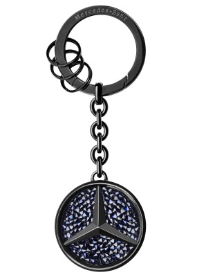 Брелок для ключей Mercedes-Benz Key Ring, Saint-Tropez, Black Edition 2017
