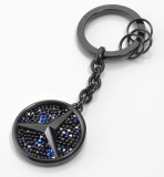 Брелок для ключей Mercedes-Benz Key Ring, Saint-Tropez, Black Edition 2017, артикул B66953288