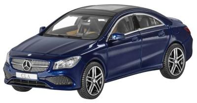 Модель Mercedes-Benz CLA, Coupé, Cavansite Blue, Scale 1:43