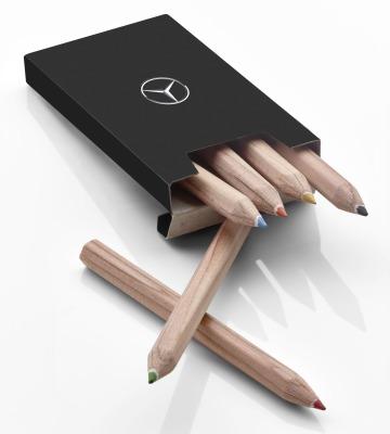 Набор цветных карандашей для детей Mercedes-Benz Kids Colour Pencil Set