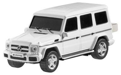 Флешка Mercedes-Benz G 65 USB Stick, 16GB, AMG, White/Black