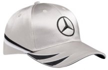 Бейсболка Mercedes DTM Men's Cap 2017, Silver / Black