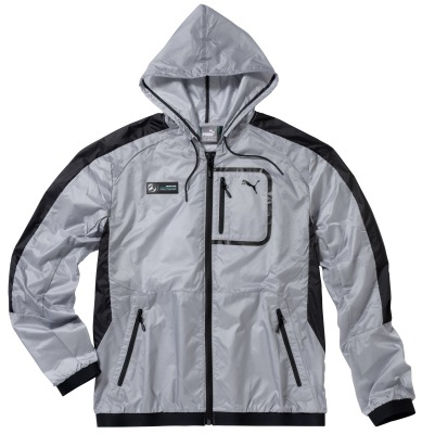 Мужская ветровка Mercedes AMG Petronas F1 Men's Windcheater, Grey