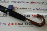 Зонт трость Nissan Stick Umbrella, Black, Huntsman, артикул 999UMBTR0XX