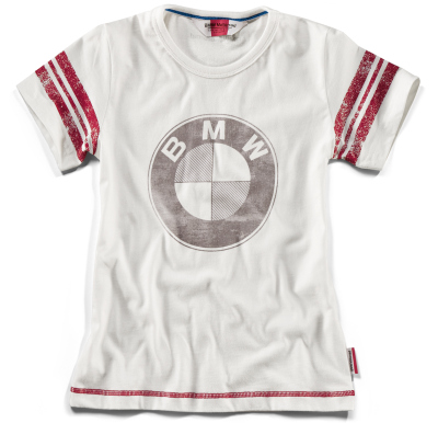 Детская футболка BMW Motorrad Logo T-Shirt Kids, Off White