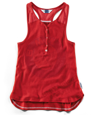 Женский топ BMW Motorrad Top Logo Ladies, Red