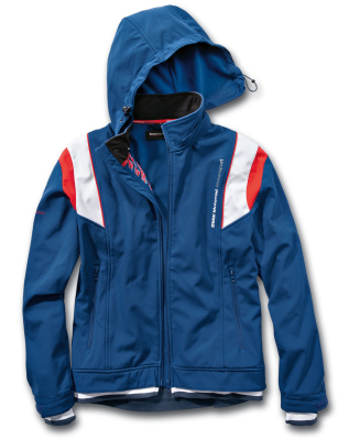 Куртка унисекс BMW Motorrad Motorsport Softshell Jacket, Unisex, Blue