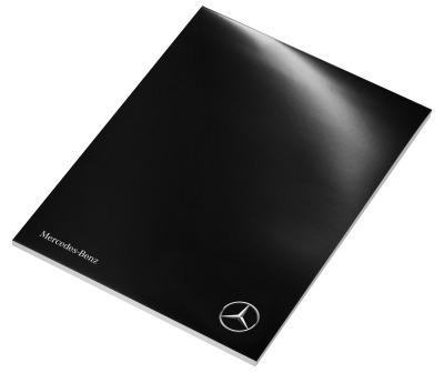 Блокнот Mercedes-Benz Writing Pad 2017, Black/White