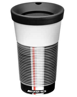 Термокружка Mercedes-Benz Coffee2Go Cup, AMG, White