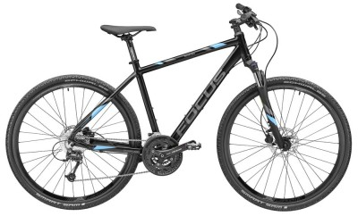 Велосипед Mercedes-Benz Fitness Bike Crater Lake, FOCUS Bikes, Black