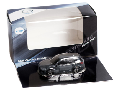 Флешка в форме Mazda CX-5 USB Flash Drive, 16Gb, Grey-Blue
