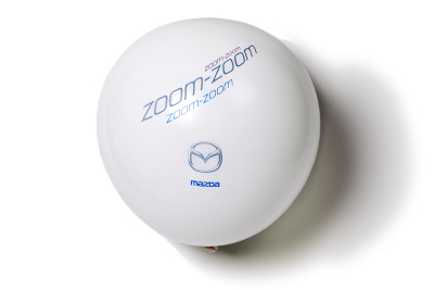 Воздушные шарики Mazda Baloon Zoom-Zoom, Black and White