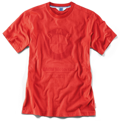 Мужская футболка BMW Motorrad Logo T-shirt Men, Red