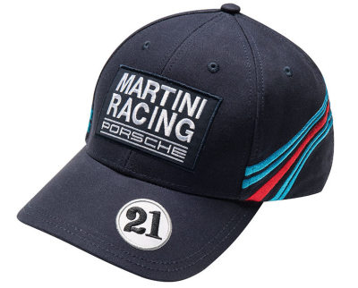 Бейсболка Porsche Baseball Cap Martini Racing, Dark Blue