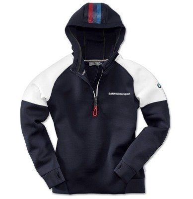 Женская толстовка BMW Motorsport Hoodie, Ladies, Blue/White