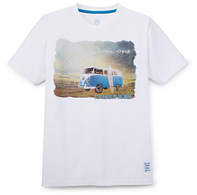 Мужская футболка Volkswagen T1 Bulli Summer Edition, White