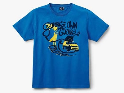 Мужская футболка Volkswagen California T-Shirt, Men's, Blue