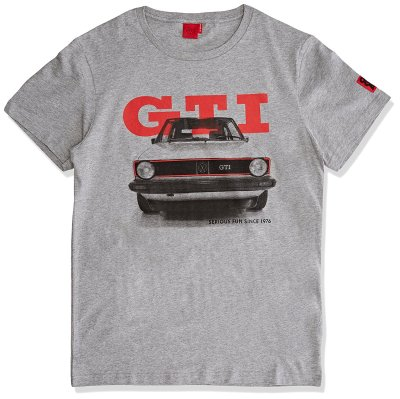 Мужская футболка Volkswagen GTI 1976 T-Shirt, Mens, Grey