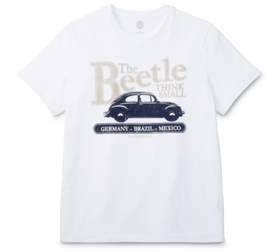 Мужская футболка Volkswagen Beetle T-Shirt, Men's, White