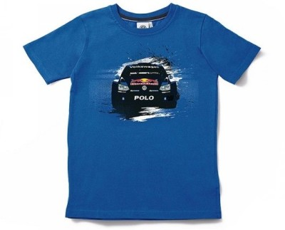 Мужская футболка Volkswagen T-Shirt, Rally The World, Men's, Blue
