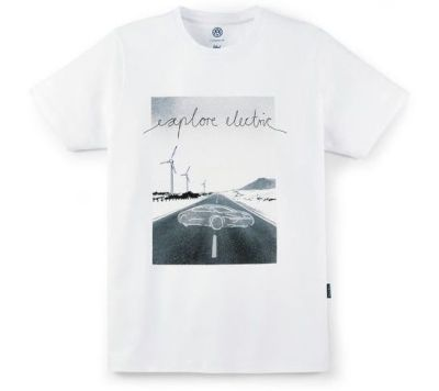 Мужская футболка Volkswagen T-Shirt, Think Blue, Men's, White