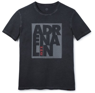 Мужская футболка Volkswagen Adrenalin-GTI T-Shirt, Mens, Dark Grey