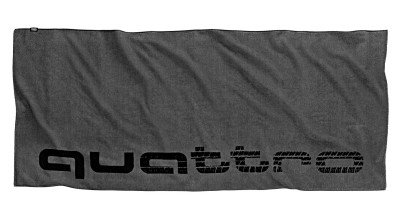 Банное полотенце Audi Quattro Beach Towel, Grey
