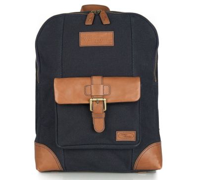 Рюкзак Land Rover Heritage Back Pack, Navy/Brown