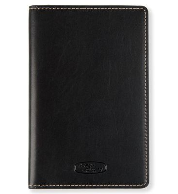 Кожаная обложка для паспорта Land Rover Heritage Darien Gap Passport Holder, Blue/Brown