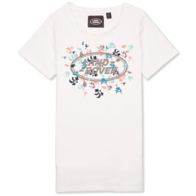 Женская футболка Land Rover Women's Graphic T-shirt, White