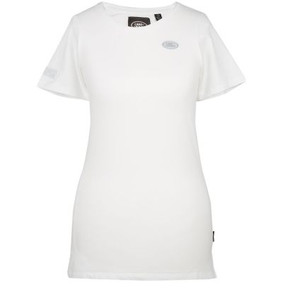 Женская футболка Land Rover Women's Oval Badge T-shirt, White