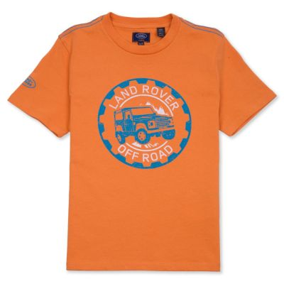 Футболка для мальчиков Land Rover Boys Off-road Graphic T-shirt, Orange