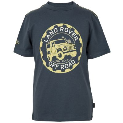 Футболка для мальчиков Land Rover Boys Off-road Graphic T-shirt, Navy