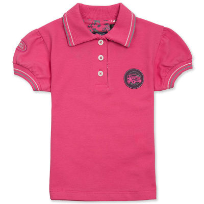 Рубашка-поло для девочек Land Rover Girls Off-road Polo Shirt, Pink