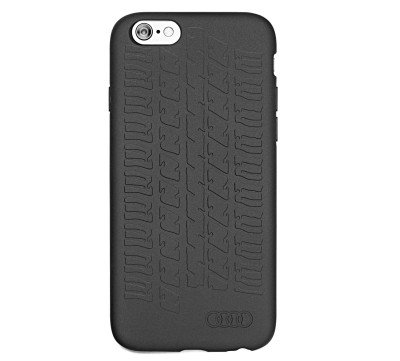 Чехол-крышка Audi для Apple iPhone 6/6s/7, Case Tyre Tread, Black